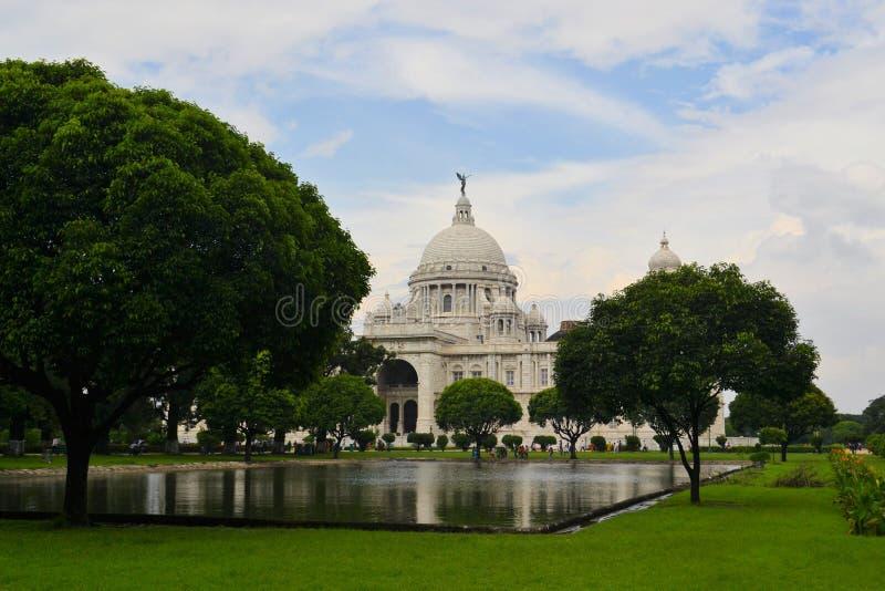 维多利亚纪念品在加尔各答印度 库存图片