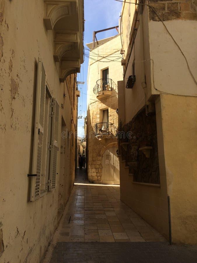 维多利亚,戈佐岛,马耳他 库存照片
