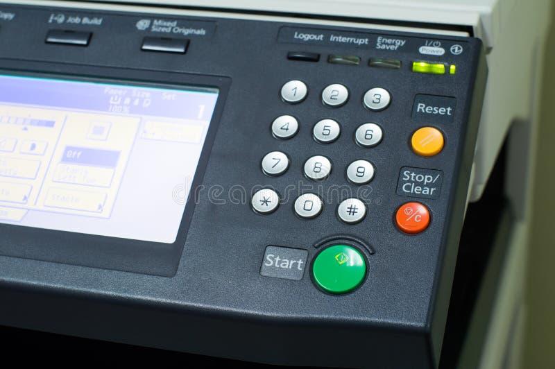 多功能打印机在办公室 免版税库存图片