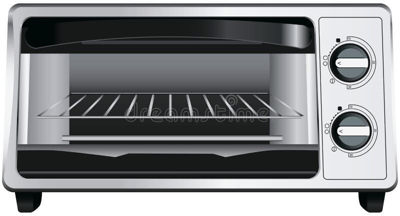 多士炉烤箱 皇族释放例证