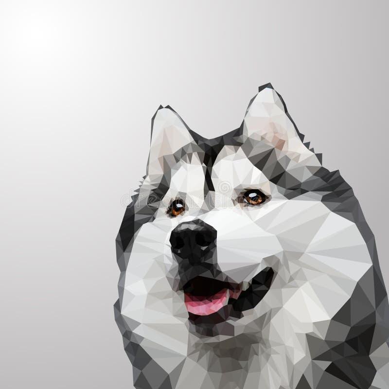 多壳的狗 库存例证