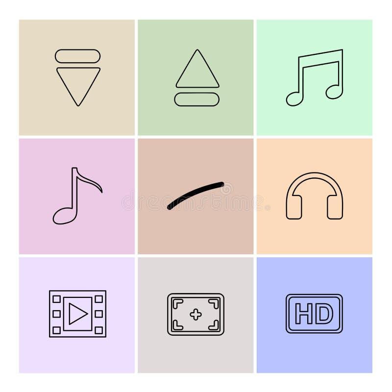 多媒体,戏剧,停留,容量,声音,话筒, eps集成电路 库存例证