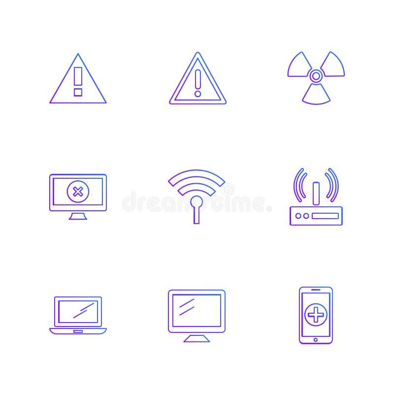 多媒体,报告人,容量,耳机,话筒,网络 向量例证