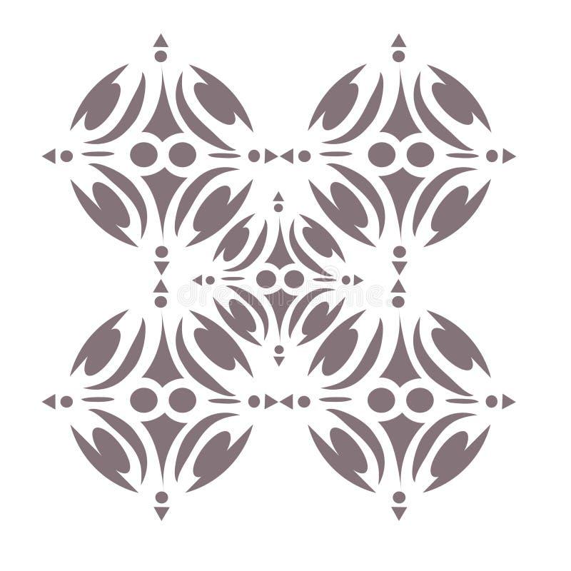 多孔黏土创建了iillustrator装饰品模式软件 库存照片