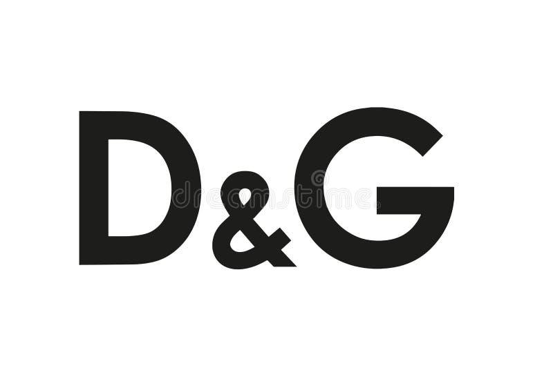 多尔切和加巴纳商标 向量例证
