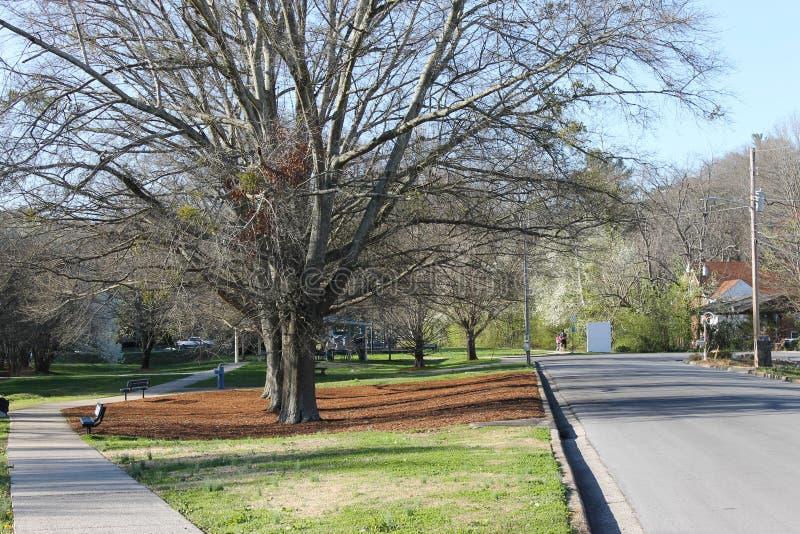 多尔顿的, GA洛克伍德公园 免版税库存照片
