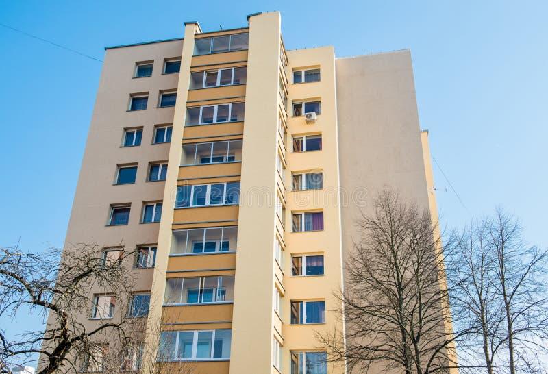 多层的公寓 免版税库存图片