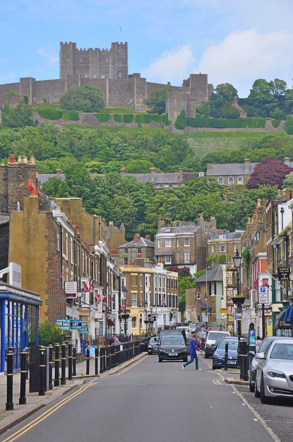 多弗城堡,英国 免版税库存照片