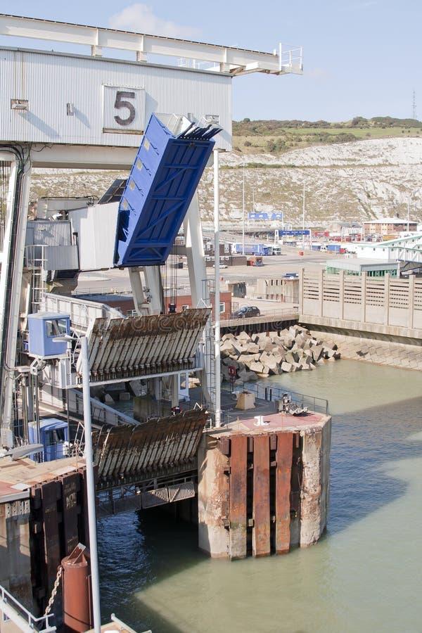 多弗港口 免版税库存图片