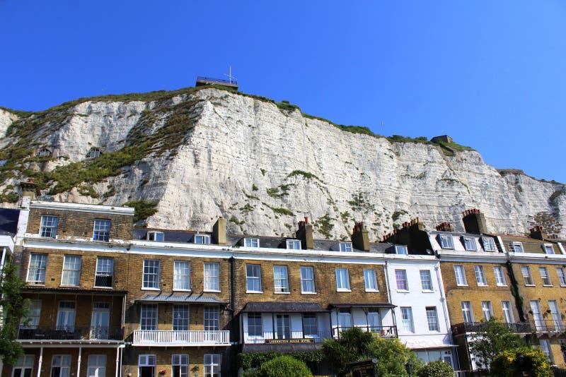 多弗英国白色峭壁  免版税库存图片