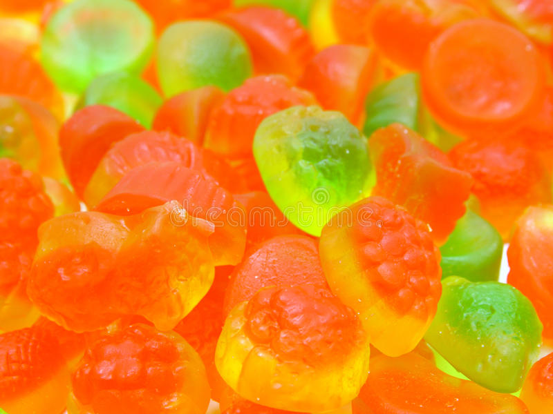 多彩多姿果子的糖果所有排序 库存图片