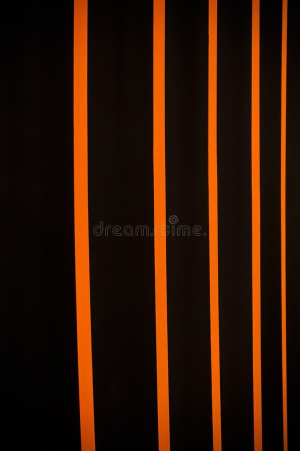 多彩多姿的垂直窗帘 免版税库存照片