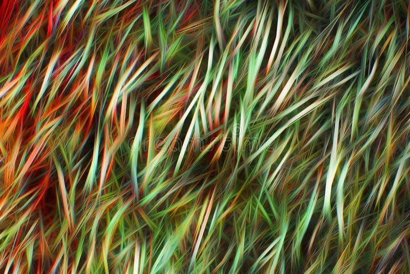多彩多姿的条纹和刷子冲程抽象背景  库存照片