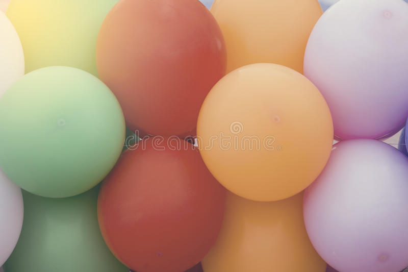 多彩多姿的气球背景2 库存图片