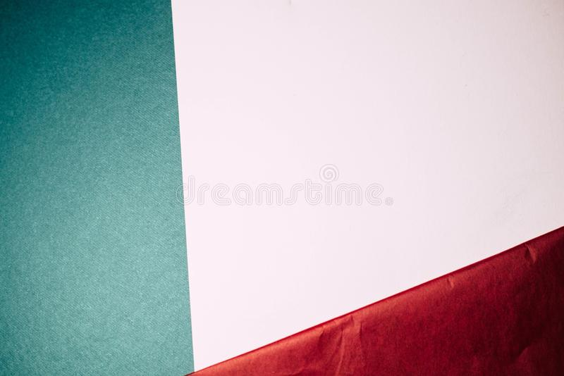 多彩多姿的纸背景 免版税库存图片
