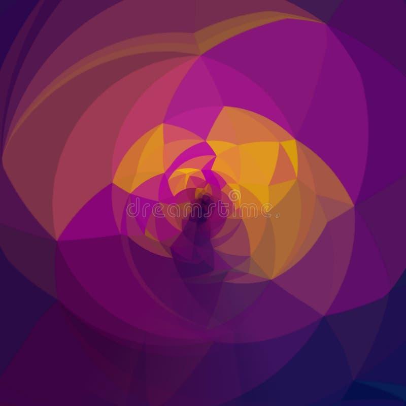 多彩多姿的花图表 向量例证
