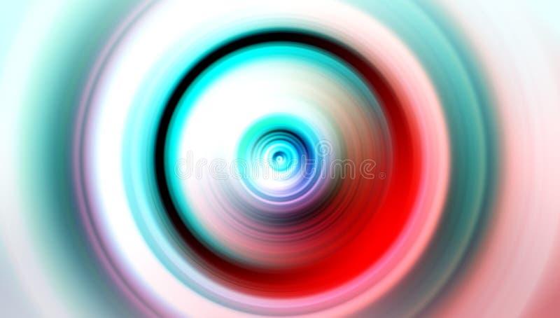 多彩多姿的迷离抽象背景传染媒介设计,五颜六色的被弄脏的被遮蔽的背景,生动的颜色传染媒介例证 图库摄影