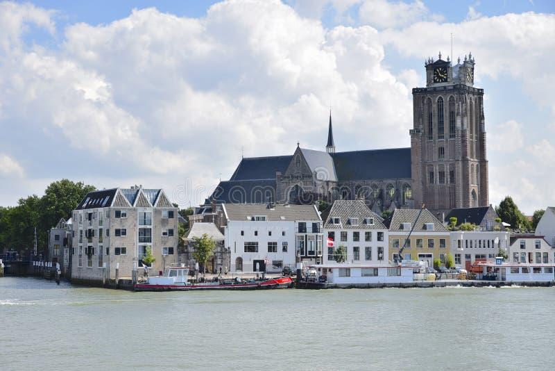 多德雷赫特或Dort,荷兰 免版税库存照片