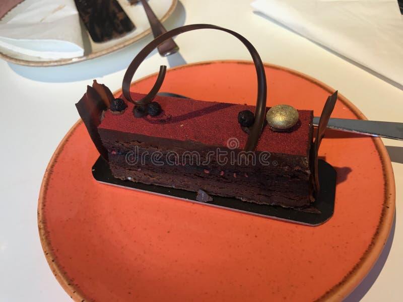 多数beautifull蛋糕在贝尔格莱德 免版税库存照片