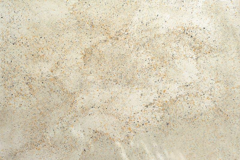 多斑点的石纹理的被加点的灰泥模仿 免版税库存图片