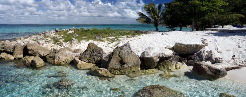 多明尼加海滩 库存照片