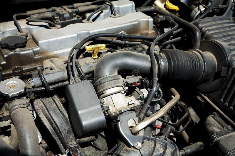 多灰尘的引擎 库存图片
