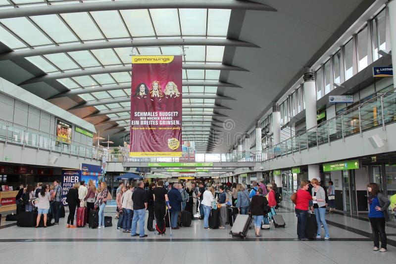 多特蒙德机场 免版税图库摄影