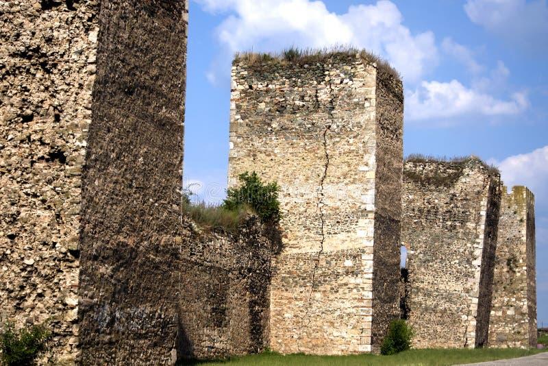 多瑙河堡垒河塞尔维亚smederevo 免版税图库摄影