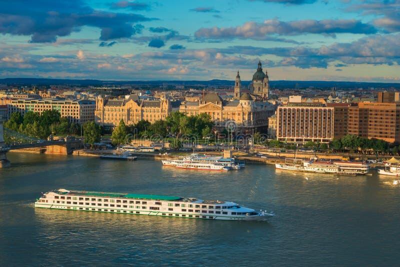多瑙河巡航 库存照片