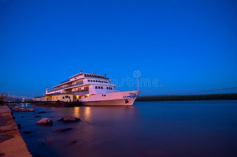 多瑙河游轮 免版税库存图片