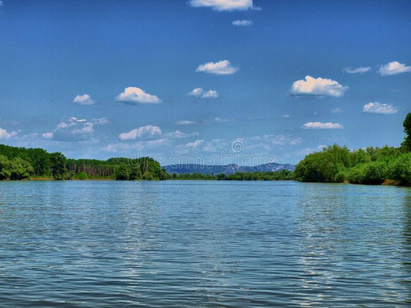 多瑙河生活河 免版税库存图片