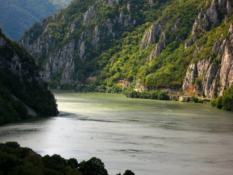 多瑙河 库存图片