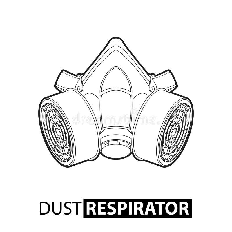 多用途人工呼吸机 库存例证