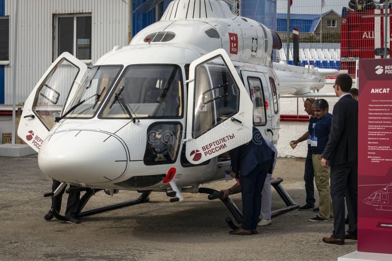 多用途轻的直升机Ansat 图库摄影