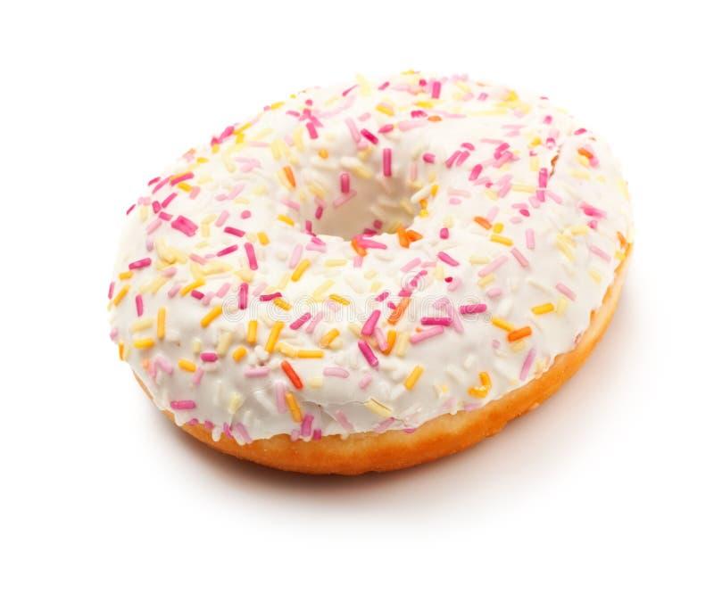多福饼给上釉的糖 免版税库存照片