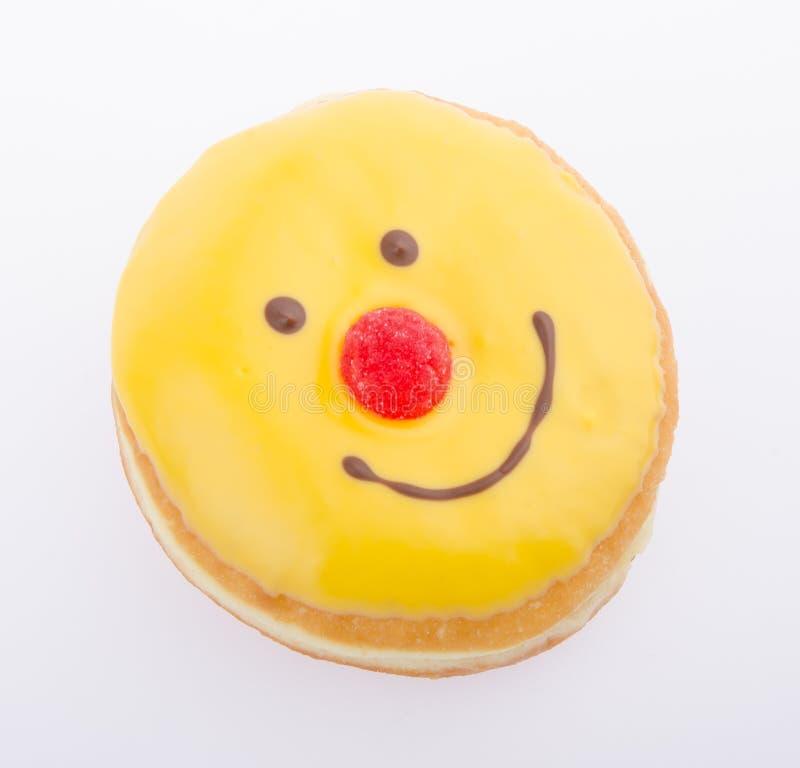 多福饼,在背景的滑稽的多福饼表面 库存图片