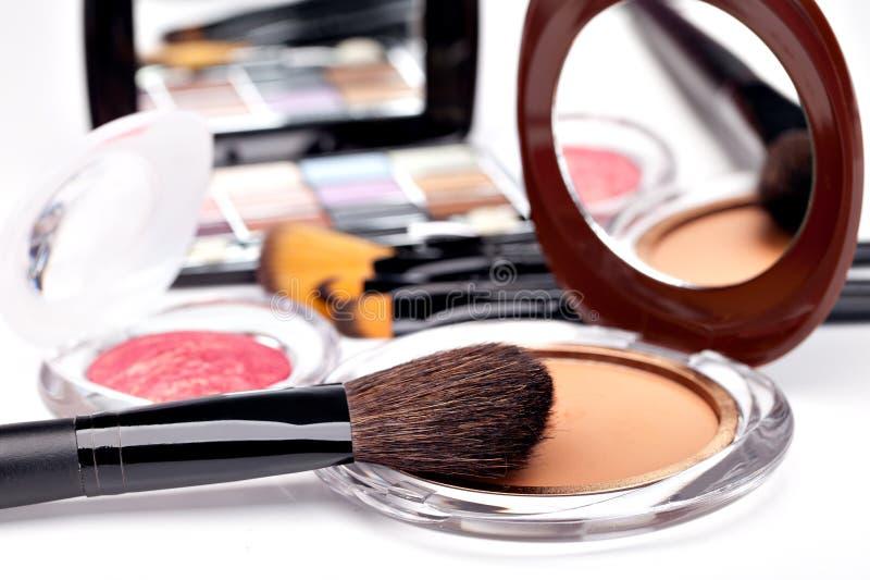 多种化妆用品 免版税库存图片