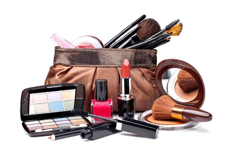 多种化妆用品 图库摄影