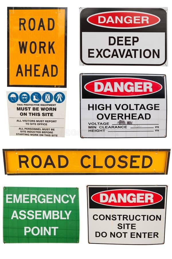 多种建筑符号 免版税库存照片
