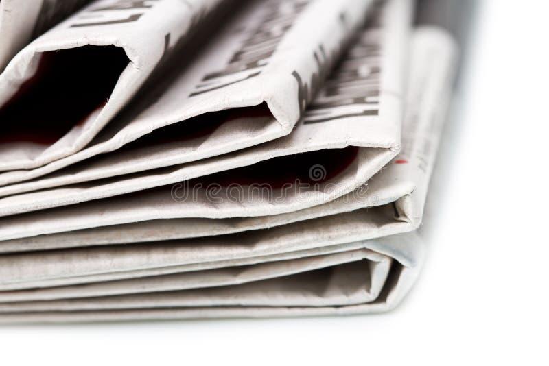 多种报纸 免版税库存图片