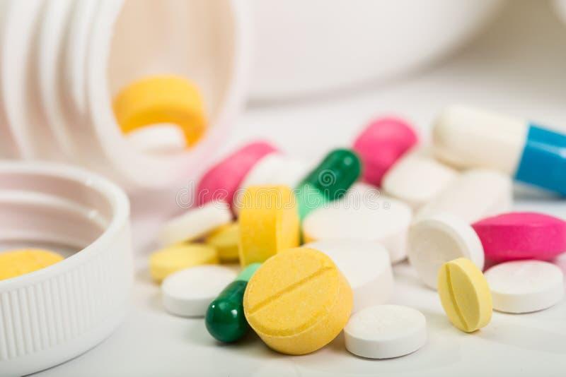 多种药片 免版税库存照片