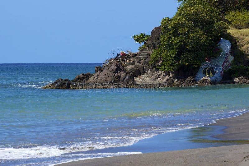 多米尼加,加勒比 免版税库存照片