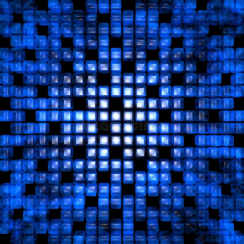 多维数据集光 库存例证