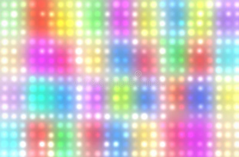 多色抽象的背景 向量例证