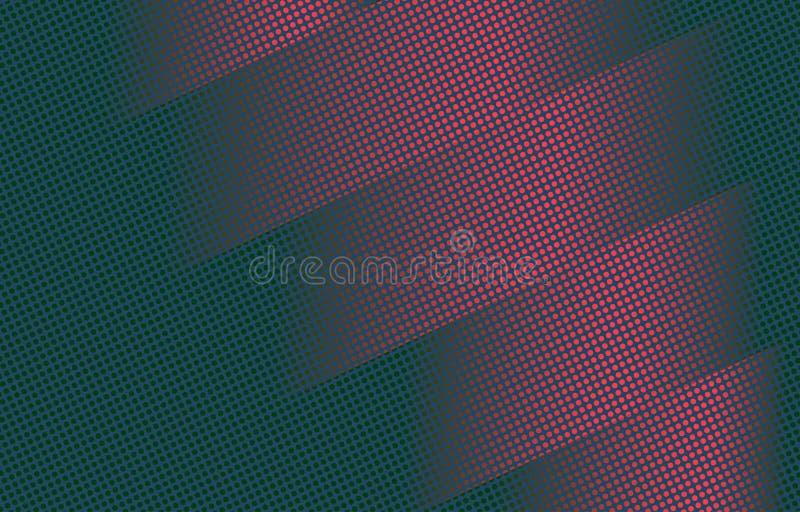 多色的抽象半音背景 向量例证