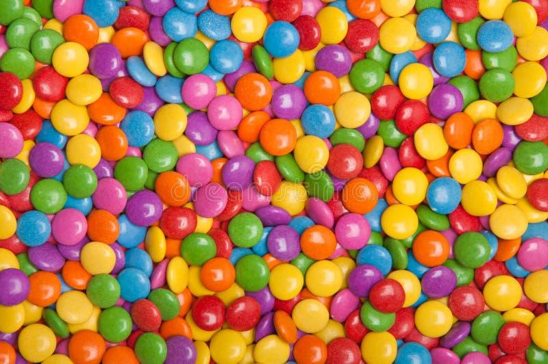 多色的糖果 库存图片