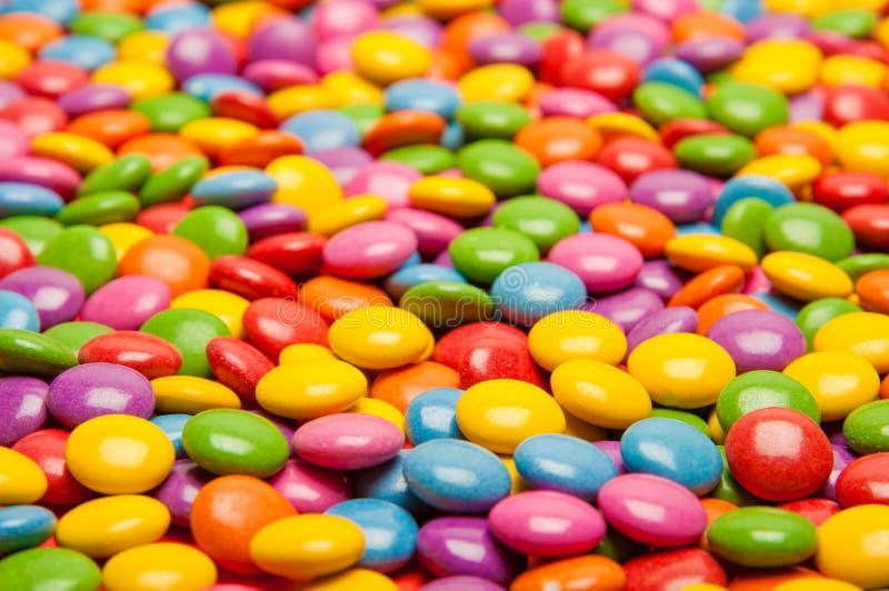 多色的糖果 免版税库存图片