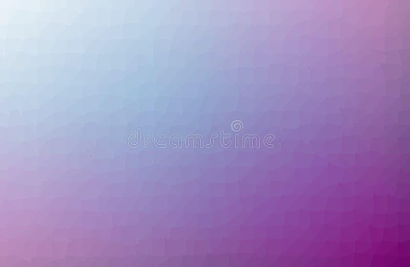 多色紫色,桃红色几何弄皱的三角低多origami样式梯度例证图表背景 ?? 皇族释放例证