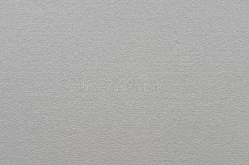 多苯乙烯,多孔的白色背景纹理  免版税库存照片