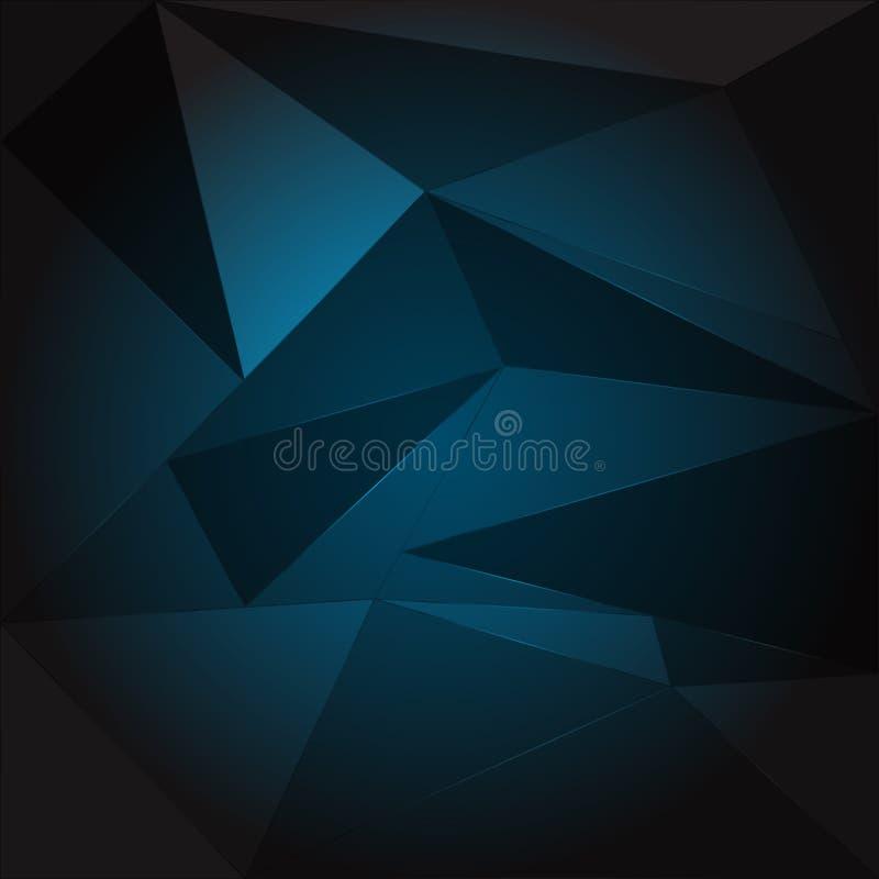 多角形传染媒介例证抽象背景  皇族释放例证